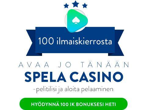 Spela Casino bonus