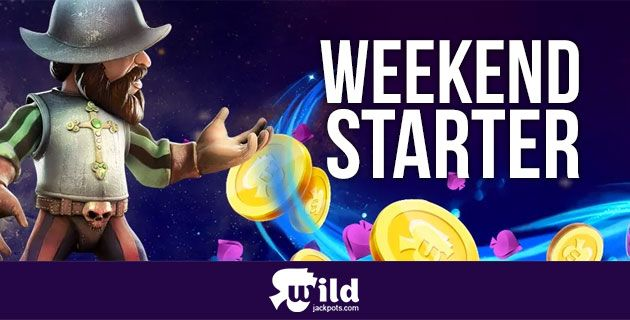 Wild Jackpots Weekend Starter