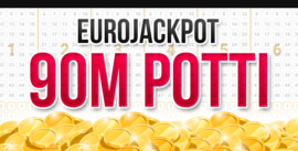 EuroJackpot 90m