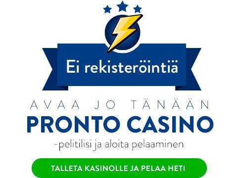 Pronto Casino bonus
