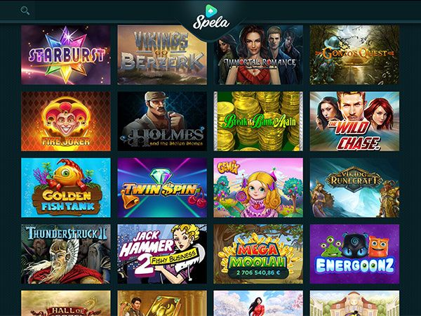 Spela Casinon pelejä