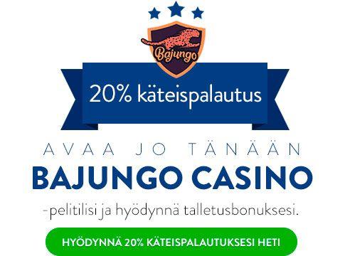 Bajungo Casino bonus