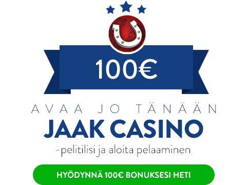 Jaak Casino bonus