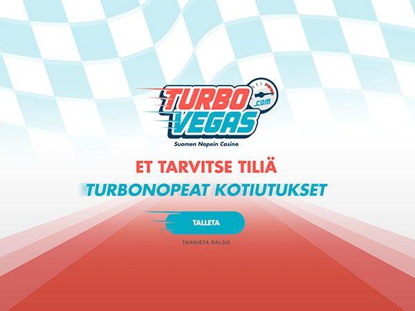 TurboVegas casino kotiutukset