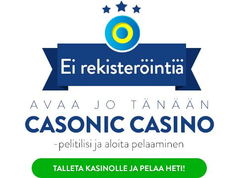 Pelaa Casonic Casinolla