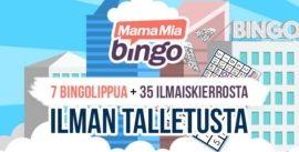 MamaMia Bingo liput