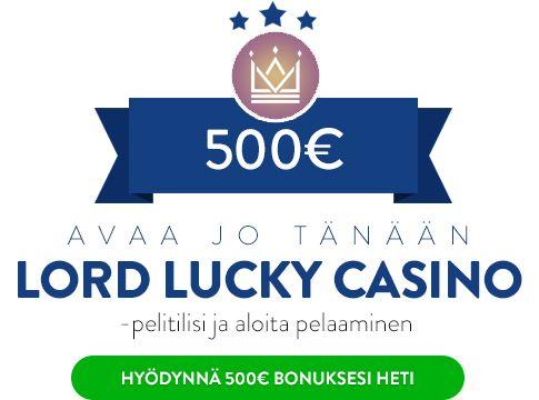 Lord Lucky Casino bonus