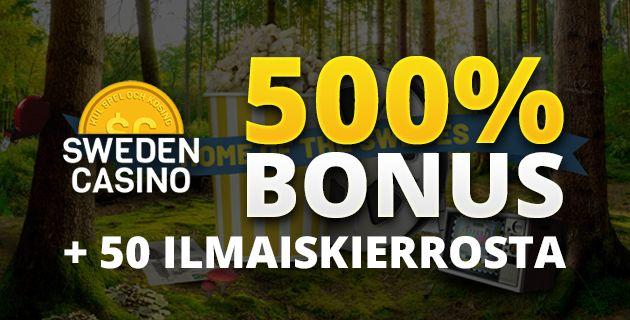 Sweden Casino bonus