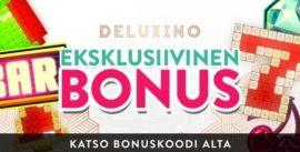 Deluxino Casino eksklusiivinen bonus
