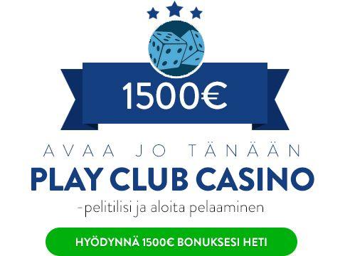 Play Club Casino bonus