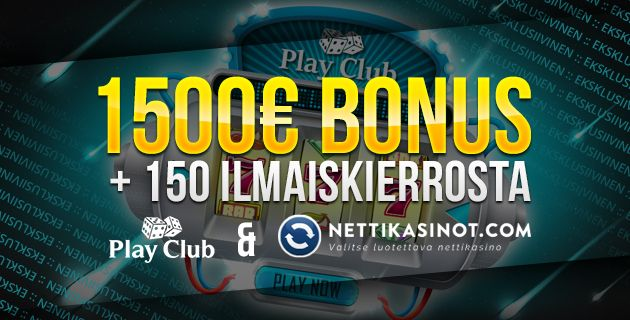 Play Club Casino eksklusiivinen bonus