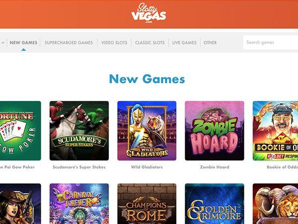 Slotty Vegas casino uudet pelit