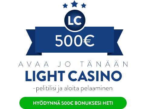 Light Casino bonus