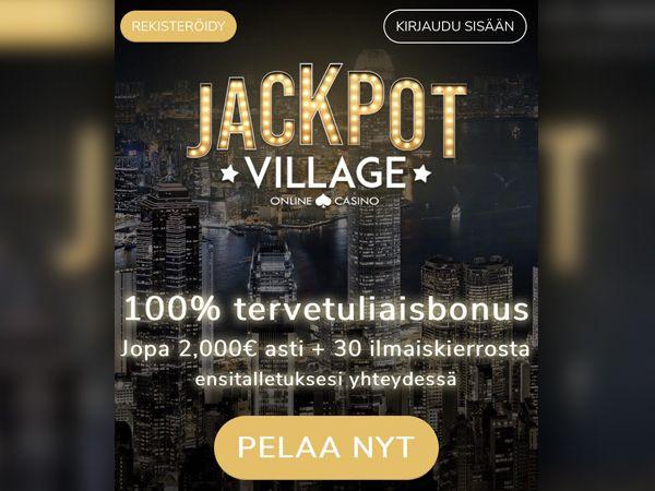 Jackpot Village Casino mobiili