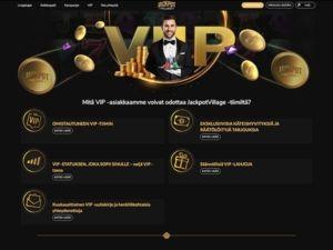 VIP-ohjelma Jackpot Villagella