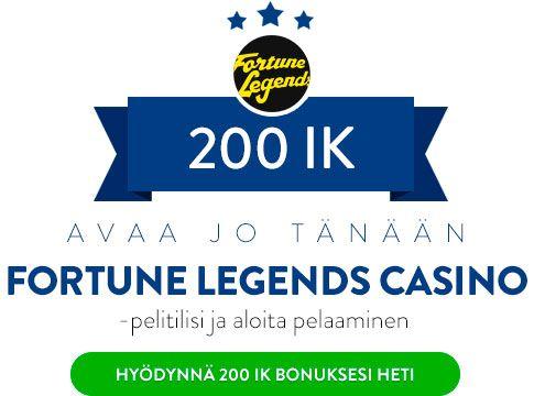 Fortune Legends Casino bonus