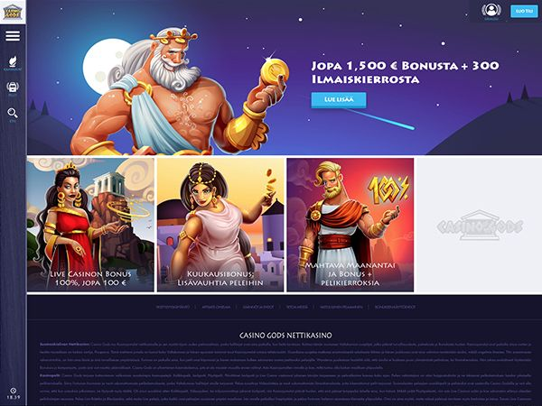 Casino Gods kampanjat