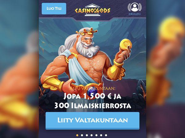 Casino Gods mobiilikasino