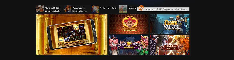 Casino Winner pelivalikoima