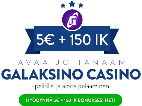 Galaksino Casino bonus