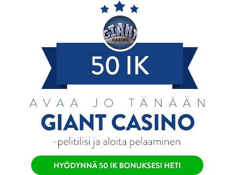Giant Casino bonus