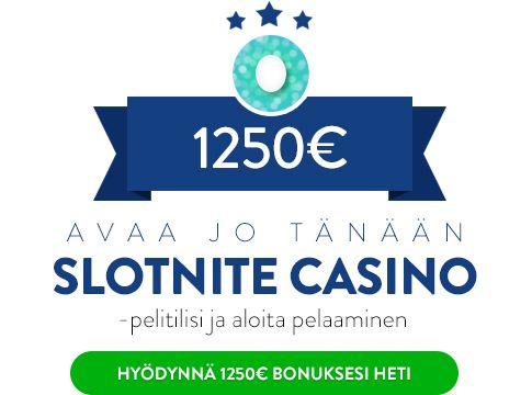 Slotnite Casino bonus