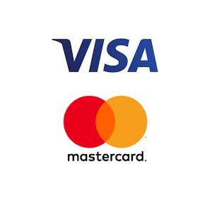 Visa ja MasterCard logot