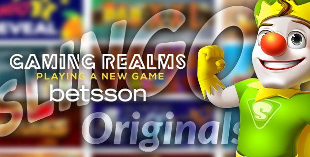Gaming Realms x Betsson yhteistyö