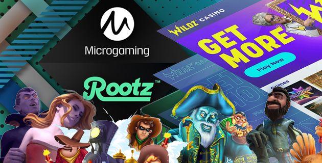 Microgaming x Rootz yhteistyö