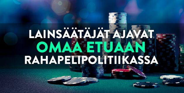Rahapelipolitiikka Suomessa