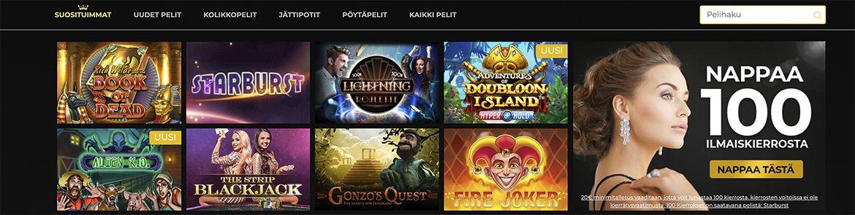 Regent Play Casino pelit