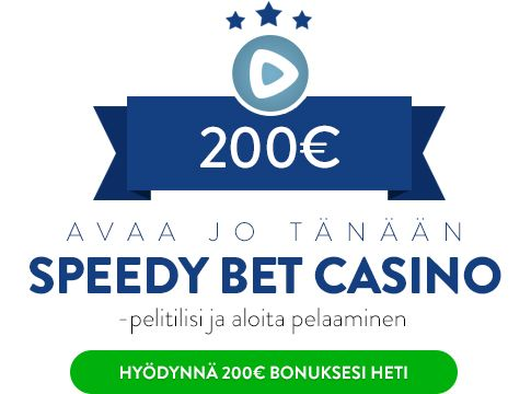 Speedy Bet Casino bonus