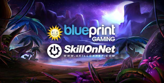 Blueprint Gaming & SkillOnNet yhteistyö