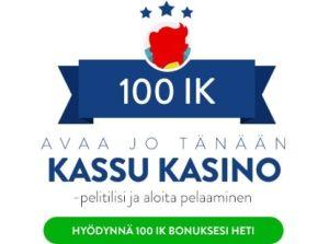 Kassu Kasino bonus