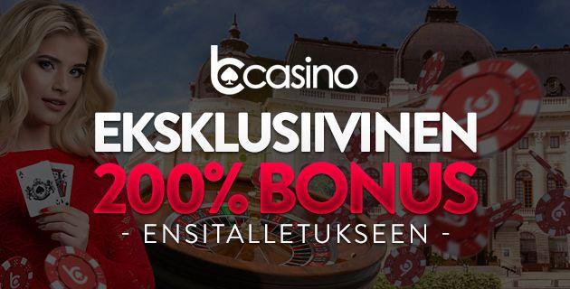bCasino eksklusiivinen bonus