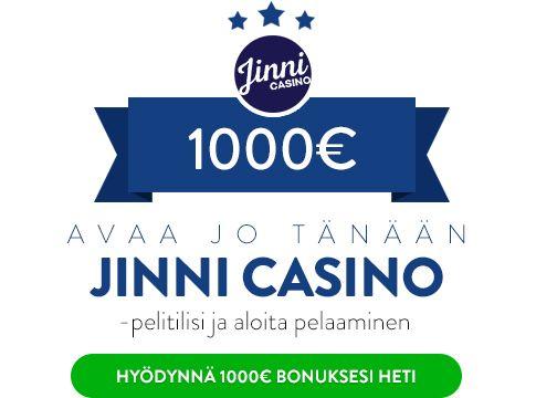Jinni Casino bonus