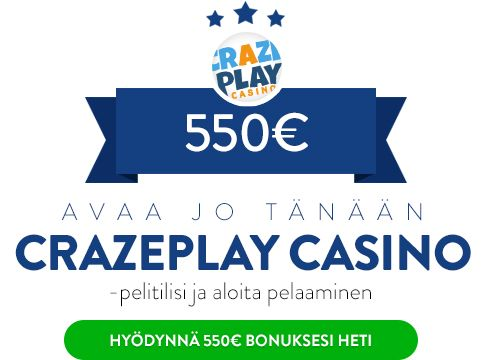 CrazePlay Casino bonus