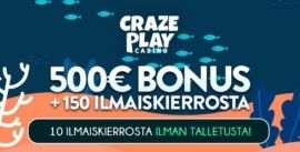 Craze Play Casino bonus