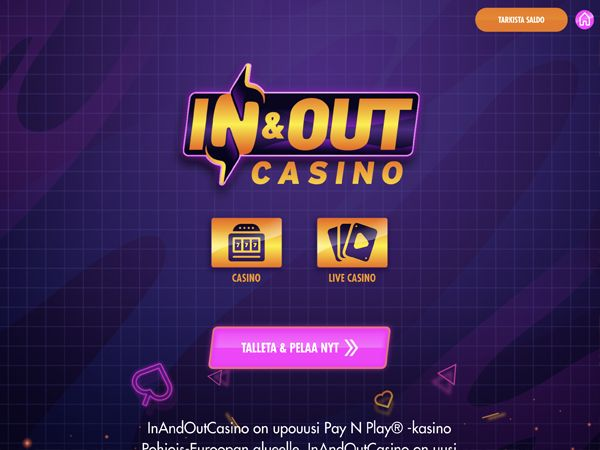 In and out casino
