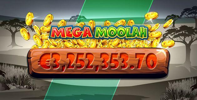 Mega Moolah voitto