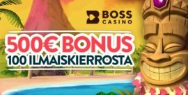 Boss Casino bonus