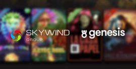 Skywind ja Genesis Globalin yhteistyö