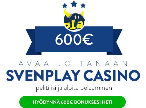 Svenplay Casino bonus