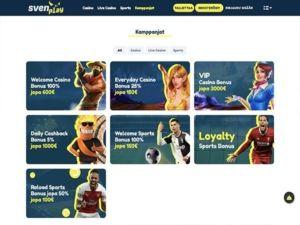 Svenplay Casino kampanjat