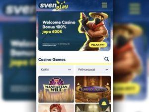 Svenplay Casino mobiili