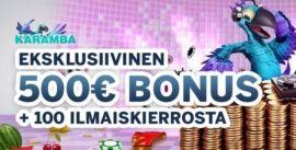 Karamba Casino eksklusiivinen
