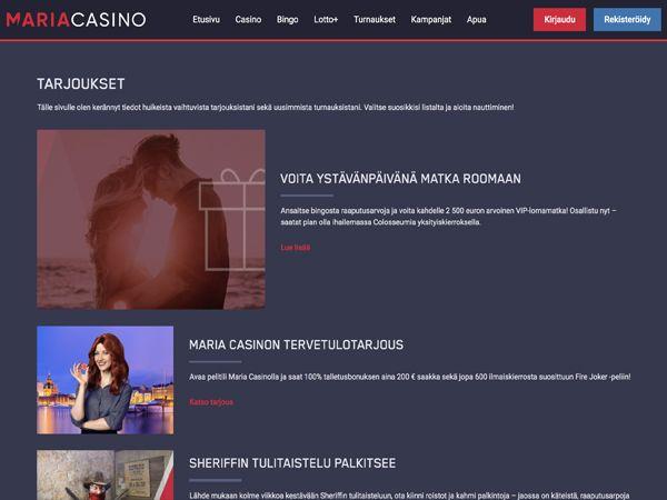 Maria Casino kampanjat