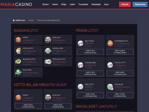 Maria Casino lotot