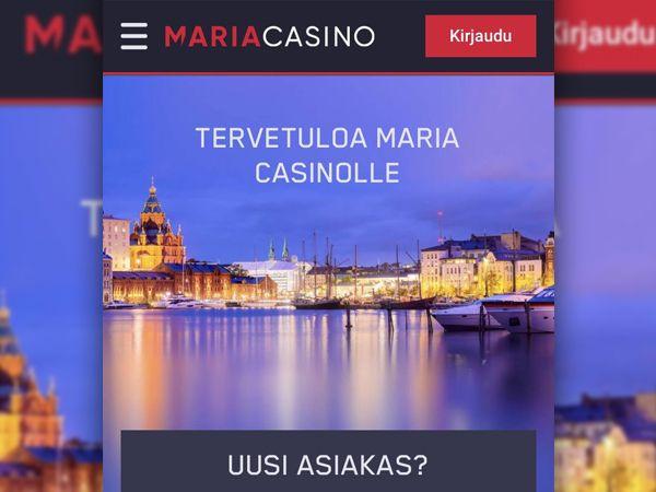 Maria Casino mobiili