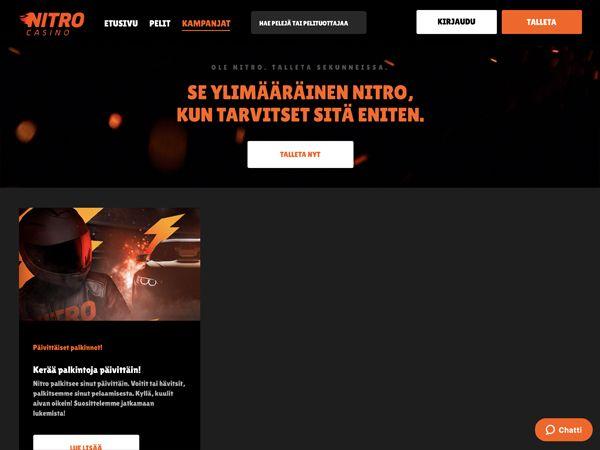 Nitro Casinon kampanjat
